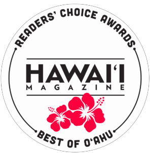 Hawaii Magazine Best of O'ahu Reader Choice Awards logo